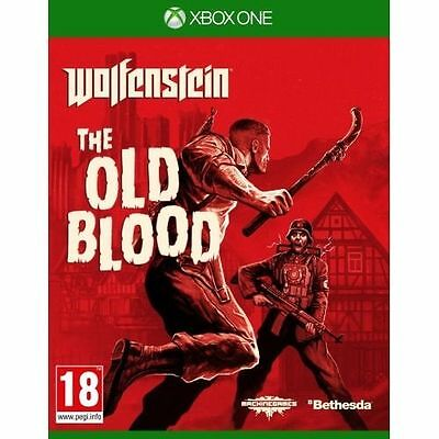 Wolfenstein The Old Blood Xbox One Game - MINT - UK STOCK - 1st Class Delivery