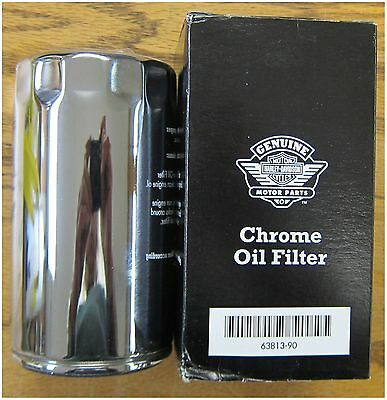 Harley Davidson New Oil Filter Use on a 1991-1998 Dyna Chrome Extra Long OEM