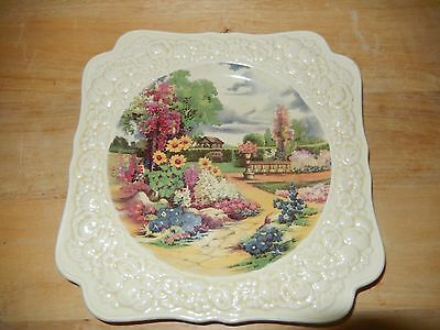 Crown Ducal 1932-1935 square Florentine plate