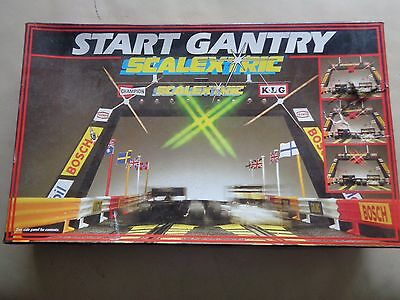 Scalextric Vintage 1980's C209 START GANTRY (BOXED) TESTED WORKING