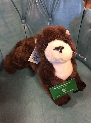 "Vintage 20"" Plush Otter Platte River Trading 1995 Stuffed Animal Toy"