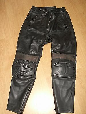 Richa Ladies Leather Motorcycle Motorbike Trousers Size 14