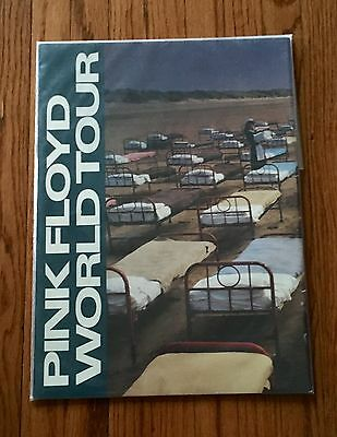 Pink Floyd World Tour 1987 Tour Book Program Tri Fold Very Good Condition