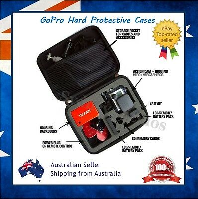 GoPro Hero 7 / 6 / 5 Storage Protective Carry Travel Box Case Bag for Go Pro