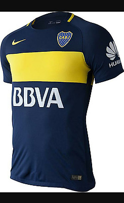 Boca Juniors Home Mens 2016-2017 Jersey Shirt Large Tight fit