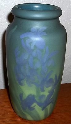 """Rookwood ''Painted Mat"""" Floral Vase by Toohey"""