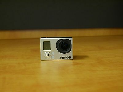 gopro hero 3 black edition with extra battery + frame housing