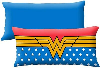 Wonder Woman Body Sleeping Floor Pillow 20' X 48' 100% Polyester Blue Red Yellow