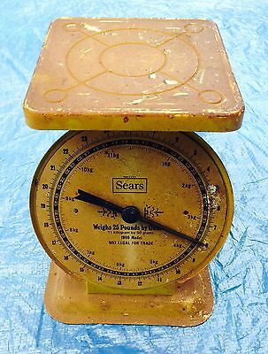 Vtg Sears Roebuck & Co Antique Model Reproduction 1906 Kitchen Weight Scales