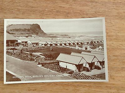 Postcard - General View, Butlin's Holiday Camp, Ayr.