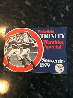 Wakefield Trinity Challenge Cup Final 1979 Wembley Special Brochure