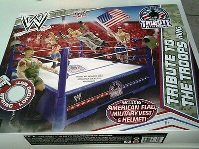 WWE Mattel Tribute to the troops Ring  Neu und OVP