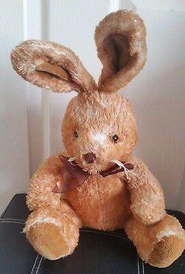 Brown Bunny Teddy Plus Toy Soft Toys Vintage Chad Valley Rabbit Animals