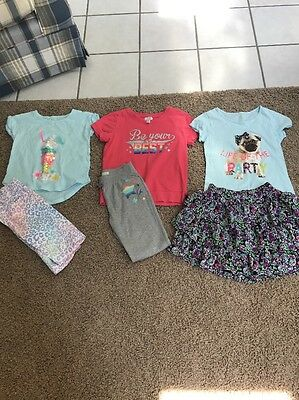 Lot Of 3 Girls Outfits From The Children's Place Size 7/8