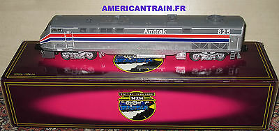 Locomotive diesel Genesis Amtrak DUMMY 3 rails échelle O MTH