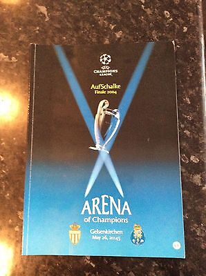 Monaco V Porto 2004 Champions League Final Played Abroad In Gelsenkirchen