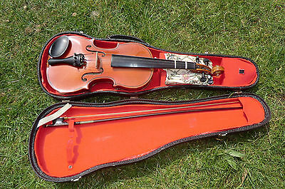 Violin Half Size with bow and with hard case