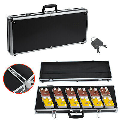 Heavy Duty Pedal Board Aluminum Flight Case for Guitar Effects Pedals Travel