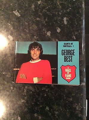 George Best Manchester United A Hall Of Fame Book Giants Of Football No 1