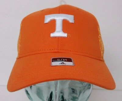 pretty nice eeefb b6f7c Official Adidas Tennessee Volunteers Orange, Size S M, Curved Mesh Hat