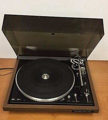 Vintage Dual 721 Fully Automatic, Direct Drive Turntable - Read Details