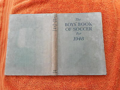 The Boys Book Of Soccer For 1948 Evans Brothers
