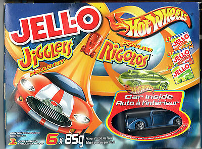 JELLO Hot Wheels jigglers mould kit Pink Cadillac 032 or Pick up 023 Jell-o mold