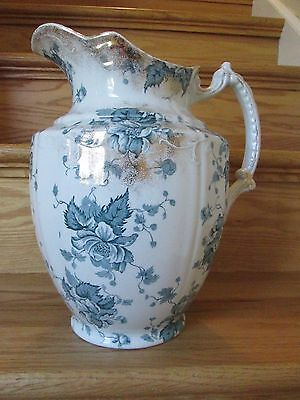 Vintage Large Victorian Pitcher For Washstand England F Winkle Co.