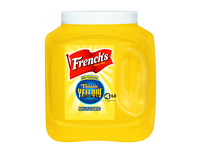 French's Classic Yellow Mustard 2,9kg Catering Size
