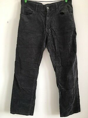 Michael Kors Mens Trousers size 32 Gray grey corduroy