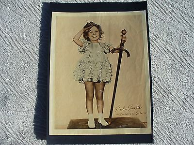 Vintage Shirley Temple poster/photo