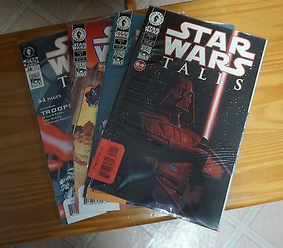Dark Horse Lot of 4 Star Wars Tales Comics # 1, 2, 4 & 10