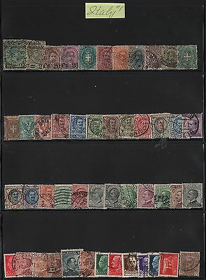 Italy Lot Of Stamps #1