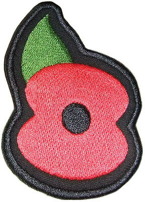 Airsoft Military Embroidered  Poppy  Patch