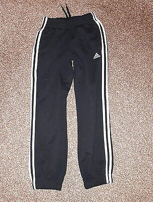 Boys adidas tracksuit bottoms 9 -10 years