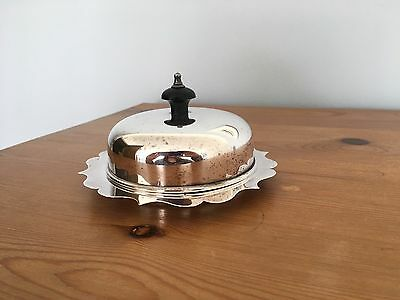 EPNS Vintage Silver Plated Butter Dish