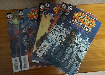 Star Wars Mara Jade By The Emperor's Hand # 1-6 Complete Set