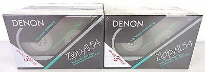 denon zippy II-54 , new factory saled, 12 pezzi , cassette, tape