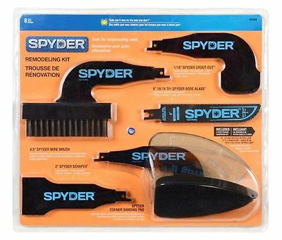 New Spyder 900404 Reciprocating Saw Remodeling Kit- Free Shipping