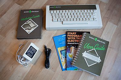 Vintage ACORN ELECTRON Computer - Boxed with Games Bundle
