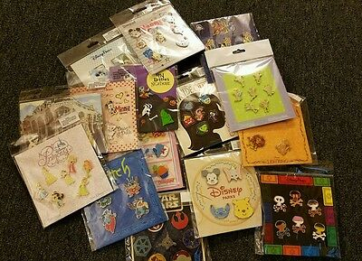 Disney Trading Pins Lot of 50 Pin In New Booster Packs Sealed Unopened Sets