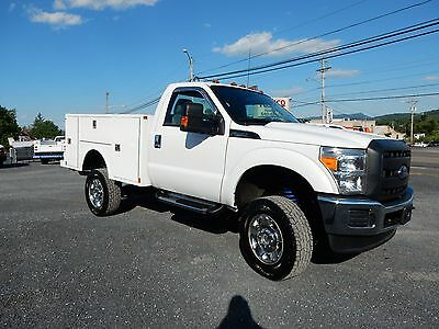 2015 Ford F250 4X4 UTILITY SERVICE BODY 21K MILES  1-OWNER FORD REPO UNIT XNICE