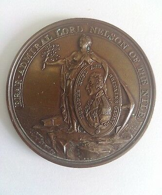 Alexander Davidson's Medal For The Battle Of The Nile 1798 In Bronze