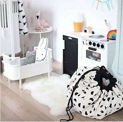 PANDA! Kids toy tote and playmat