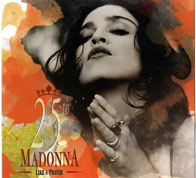 Madonna  Like a Prayer Yellow Color Vinyl Anniversary Limited Edition LP +Poster