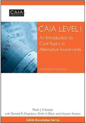 CAIA Level I: An Introduction to Core Topics in Alternative Investments (PDF)