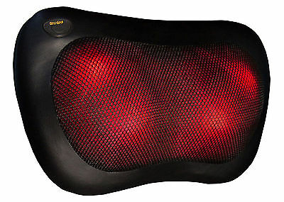 Brand New Hangsun MG100 Massage Pillow - With Heat, Includes In-Car Adapter