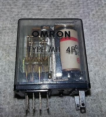 Omron Type Mh 4P 12V Dc Relay