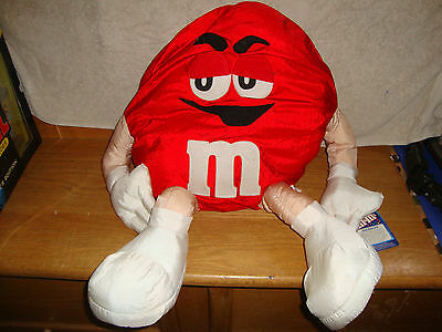 M&m (Red) Plush Character