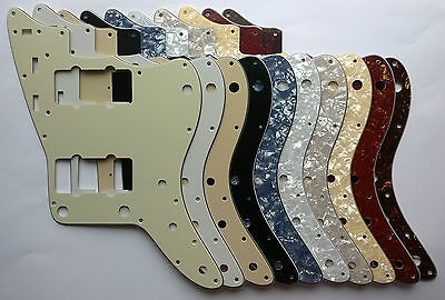 Jazzmaster Pickguard to fit US spec 3 or 4 ply scratchplate - various colours